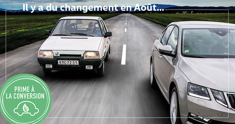 EVOLUTION DE LA PRIME A LA CONVERSION AU 1ER AOUT