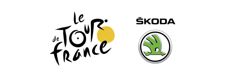 skoda et le tour de france. Black Bedroom Furniture Sets. Home Design Ideas