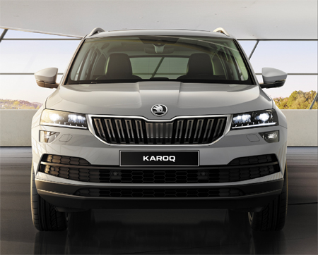 d couvrez le skoda karoq chez votre concessionnaire auto libert brest. Black Bedroom Furniture Sets. Home Design Ideas